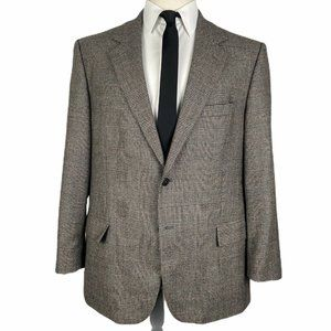 Brooks Brothers Loro Piana Sport Coat 45R Plaid